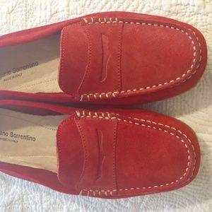 L'artigiano Sorrentino Suede Shoes - size 10 (40)